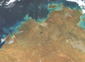 Fires in North Western Australia